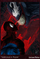 Spidey vs Venom by demitrybelmont