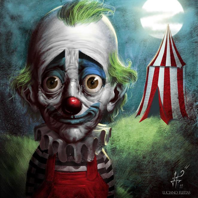 Payaso triste - sad clown by demitrybelmont