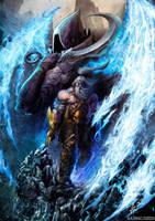 Barbarian Heroe from Diablo 3 by demitrybelmont