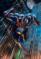 Peter Vs Venom by demitrybelmont