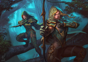 Hunters by demitrybelmont