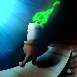 Candle Man Jack by YamiLuna8787