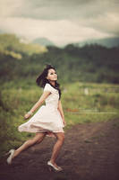 Run in heels by bwaworga