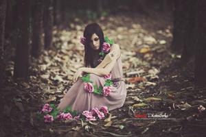 Purple Flower by bwaworga