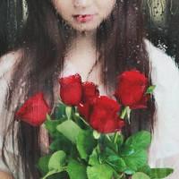 Roses and raindrops by bwaworga