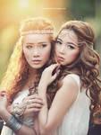 Double Beauties by bwaworga