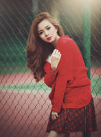 Red sweater by bwaworga