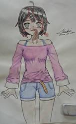Yakiniku girl by FunkyJustin