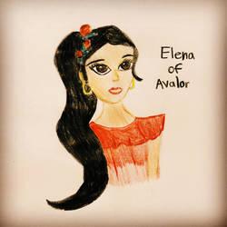 Elena of Avalor by Aztecatl13