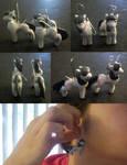 Octavia Earrings - MLP FIM by AerithHojo