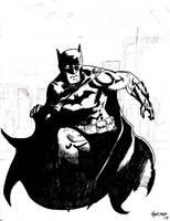 Predatory Batman by PanzerForge
