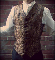 19th century men's waistcoat by PanzerForge