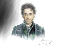 Sherlock Holmes speedpaint by PanzerForge