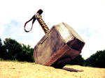 Whosoever holds this hammer... by PanzerForge