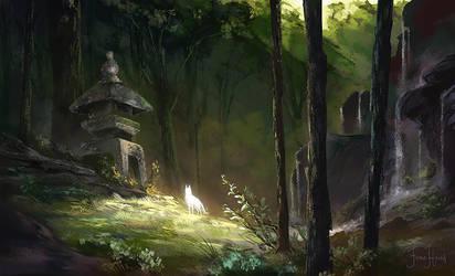 Near the Spirits by FionaHsieh