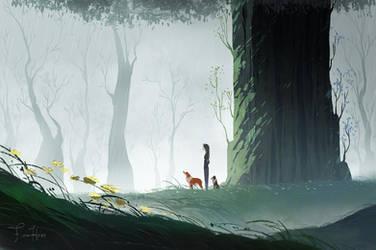Cold Rain by FionaHsieh