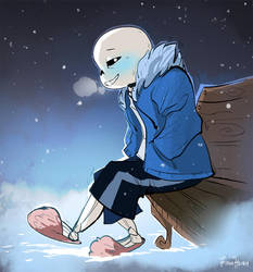 It's chilly, kid.. by FionaHsieh