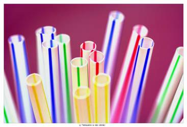 Fuzzy Straws by bert-9