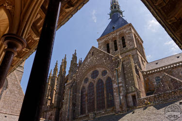 Mt St Michel - Cathedral by Salahmi