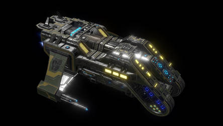 Anteros Transport Ship - Ingame by Nyctaeus