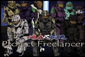 Red vs Blue Project Freelancer by SaintAsh