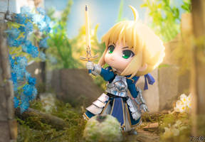 Saber by zir0photo