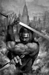 Ninja Gaiden by baimonart