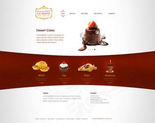 La Sante Web site Option 2 by mohamed-amin