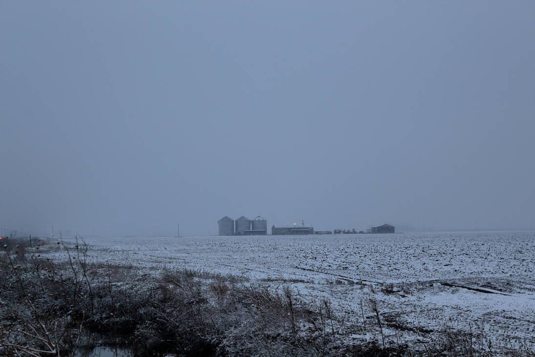 2018-11-08 - Snow - Hamburg, IA by WxKnowltey