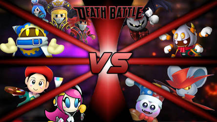 Kirby Boss Battle Royale | DEATH BATTLE! by SpikeTrap53