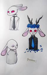 A rabbit by Ryodso