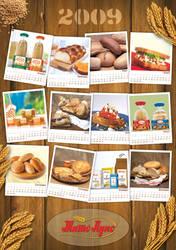 Calendar 2009 Zito Luks by kapsarovb