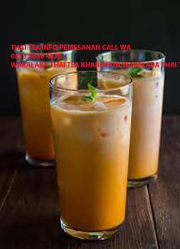 KEKINIAN!!! CALL WA 0813 3656 4878 THAI TEA THAI by geprekpiranha
