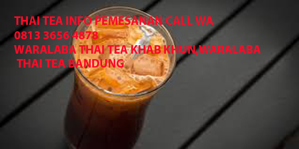 RASA BARU!!! CALL WA 0813 3656 4878 THAI TEA COFEE by geprekpiranha