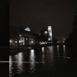 River By Night by vetal-vetal