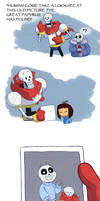 Undertale - Lil Marshmallow by TC-96