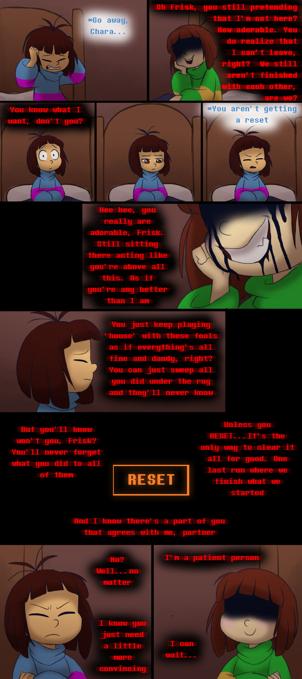 Endertale (prologue) - Page 5 by TC-96
