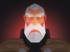 Count Dooku by InkTheory