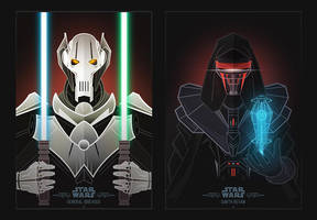 Star Wars Villains by InkTheory