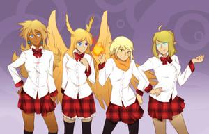 - Walking City OCT - Badass Blondes - by dragol