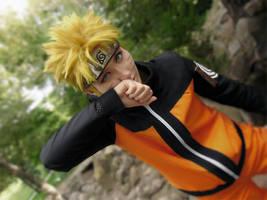 Naruto Uzumaki Cosplay by a4th