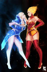 Lina Vs Maiden Final by botslim