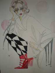 Harlequin by Olesja22
