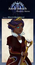 AB:Monthly Meme: Alice in Wonderland by Dragonzeek1