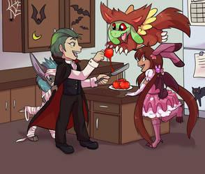 Candy Apples by Dragonzeek1