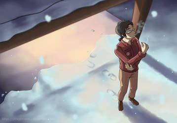 Snow Fall by Dragonzeek1
