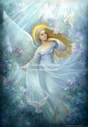 Lilac Angel by Fantasy-fairy-angel