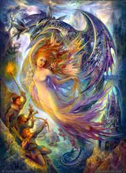 Fairy is prisoner by Fantasy-fairy-angel