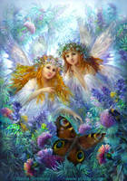 Fairies - sisters. by Fantasy-fairy-angel