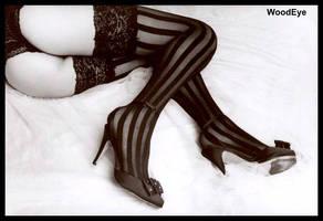 Eliza striped legs 2 14 by woodeye